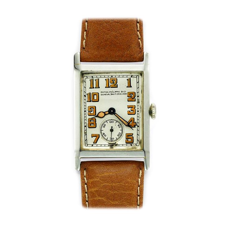 Patek Philippe: 18k White Gold Wristwatch, circa 1930