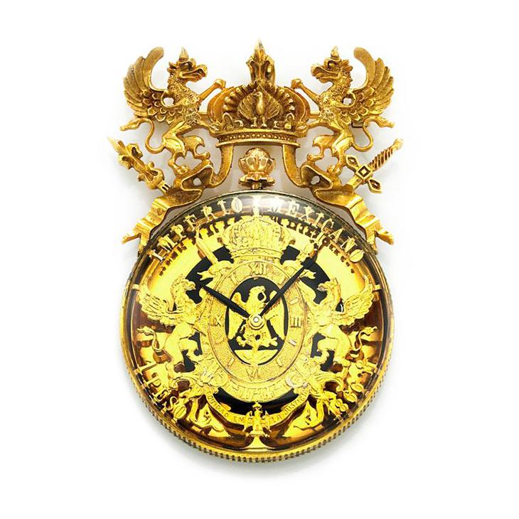 An 18k Gold Lapel Watch, by Paul Flato, circa 1970