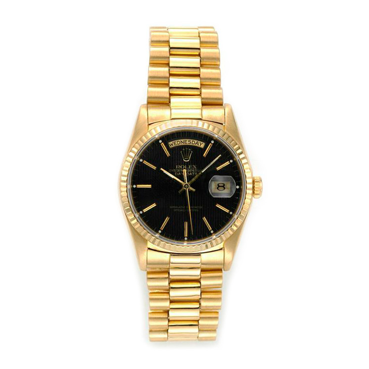 An 18k Gold Day-Date President, circa 1985, by Rolex