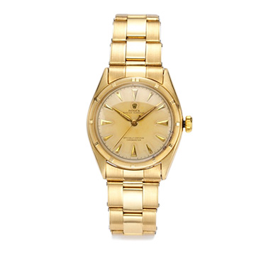 White Gold Day President Rolex with Gold Dial, Ref. 1807, circa 1975