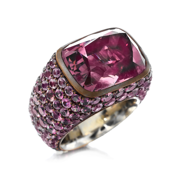 A Purple Spinel Ring, by Hemmerle