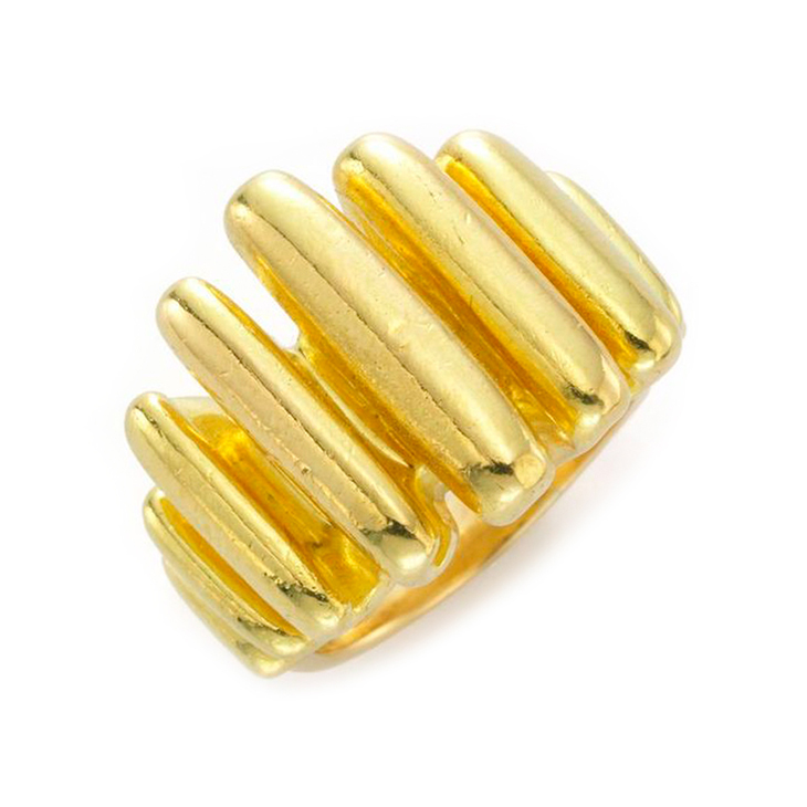 A Free Form 18k Gold Ring, by Cartier, circa 1965