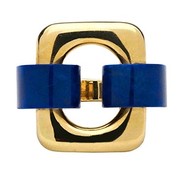 A Gold And Lapis Lazuli Ring, By Van Cleef & Arpels