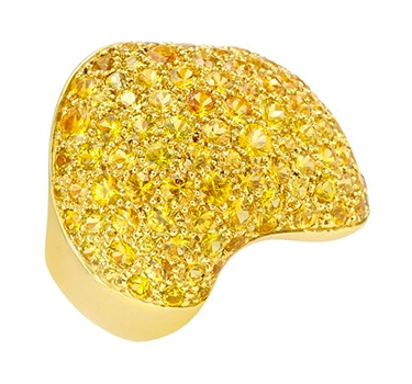 A Yellow Sapphire And Gold Ring, By Van Cleef & Arpels