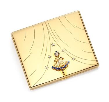 A Multi-gem And Gold Ballerina Vanity Case, By Van Cleef & Arpels