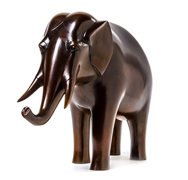 Francois-Xavier Lalanne Bronze 'Elephant' Number 2 of an edition of 8