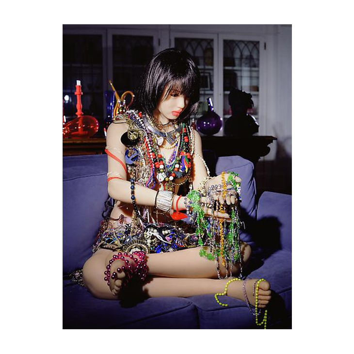"""Laurie Simmons, """"Day 22 (20 Pounds of Jewelry)"""" 2010"""