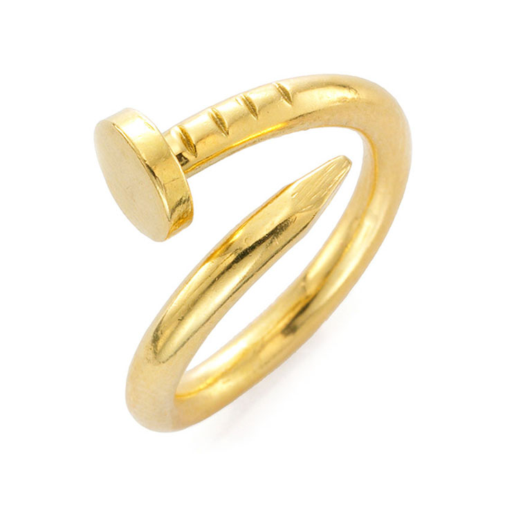 A Gold Nail Ring, by Aldo Cipullo, circa 1970