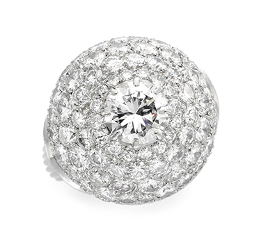 A Diamond Dome Ring, Circa 1935