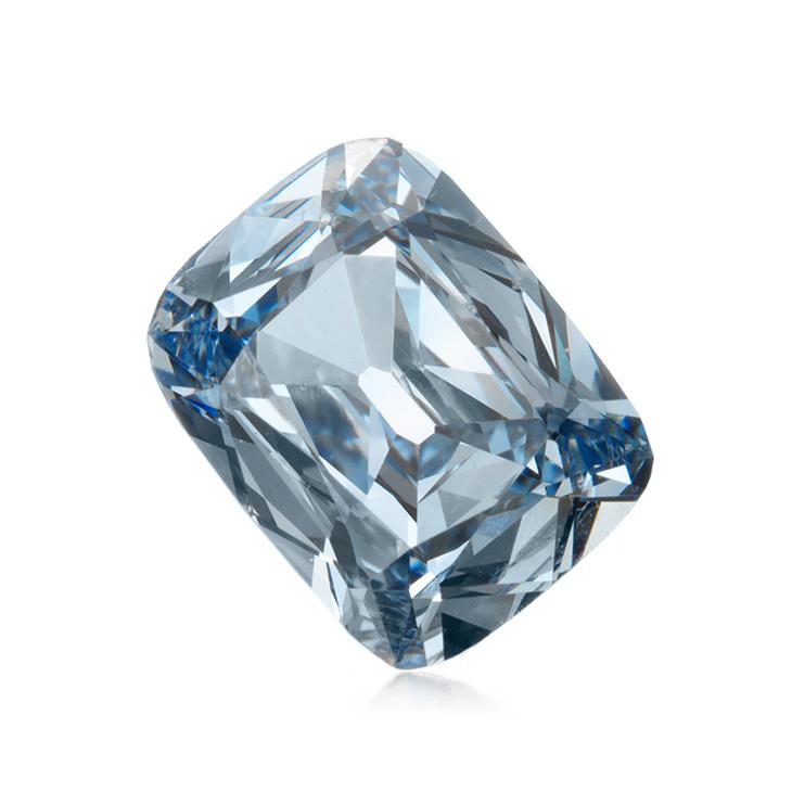 A Fancy Intense Blue Diamond of 1.15 carats
