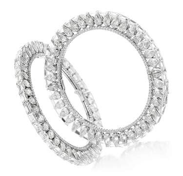 A Pair of Diamond Bangles, by Bhagat