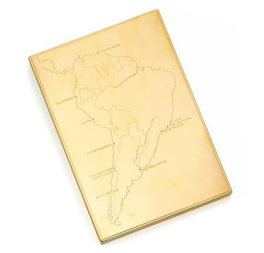 A Gold Cigarette Box, by Cartier