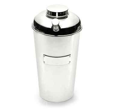 A Sterling Silver Shaker, by Cartier