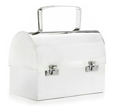 A Sterling Silver Evening Bag, by Cartier