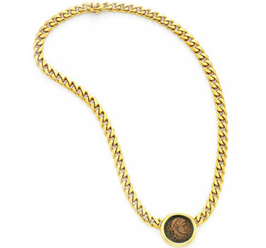 A Gold And Ancient Coin Necklace, By Bulgari, Circa 1985