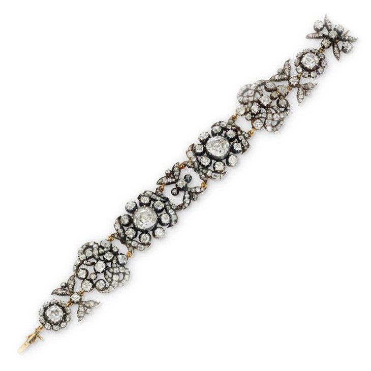 An Antique Diamond Bracelet