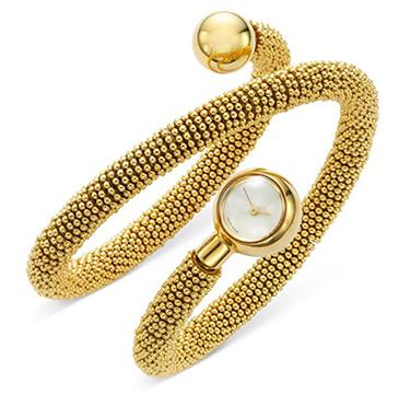A Gold ' Couscous' Bracelet Watch, by Van Cleef & Arpels, circa 2000