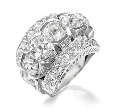 A Diamond Ring, by Raymond Templier, circa 1925