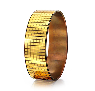 A Gold Mirrored Bangle Bracelet, by Rene Boivin, circa 1935