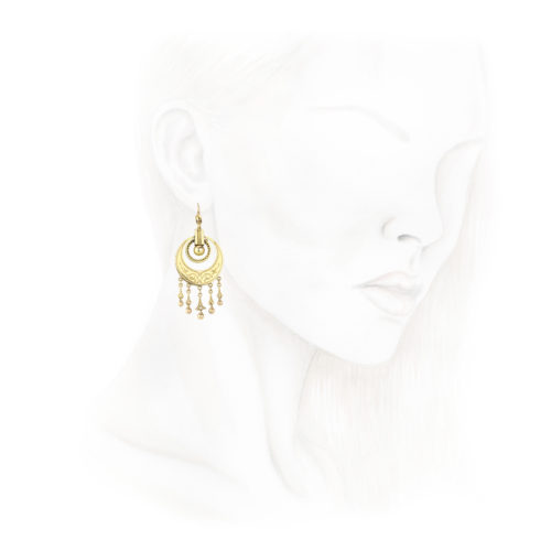 Victorian Ear Pendants