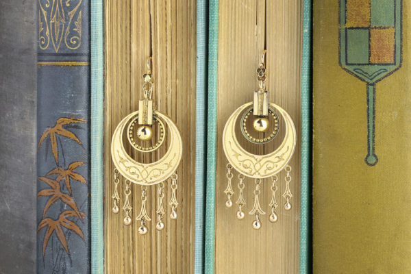 Victorian Ear Pendants