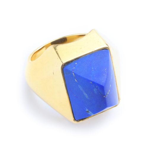 Boucheron Lapis Lazuli and Gold Ring