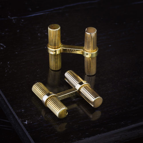 Van Cleef & Arpels Pair of Gold Cufflinks