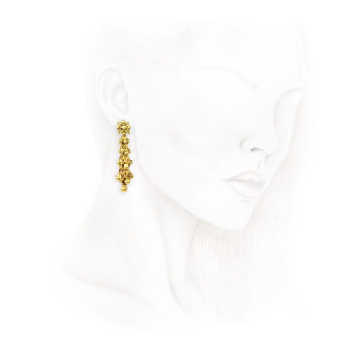 Georgian Gold Ear Pendants