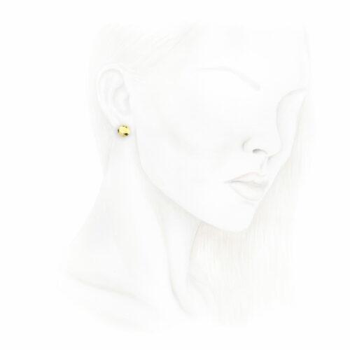 Tiffany & Co., Elsa Peretti Gold 'Carat' Ear Studs