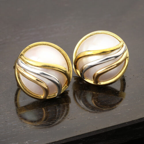 Cartier Mabe Pearl Earrings