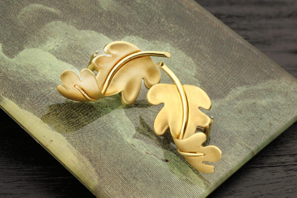 Tiffany & Co. Sculpted Gold Ear Clips