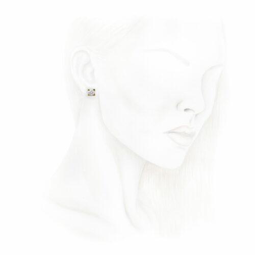 Cartier Diamond Ear Studs