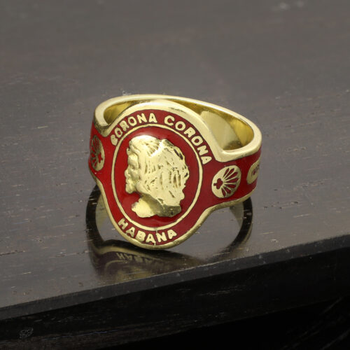 Cartier Enamel and Gold Band