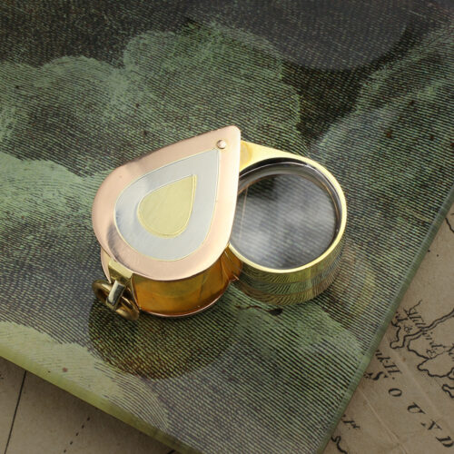 Tri-Colored Gold Jeweler's Loupe