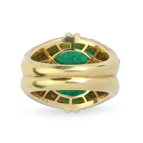 Bulgari, Emerald and Diamond Ring