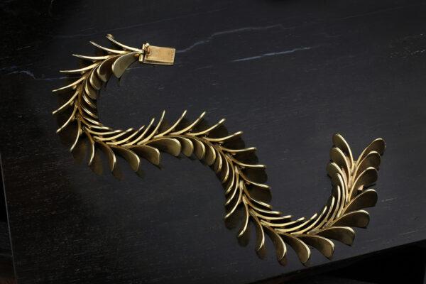 Raymond Yard Gold Link Bracelet