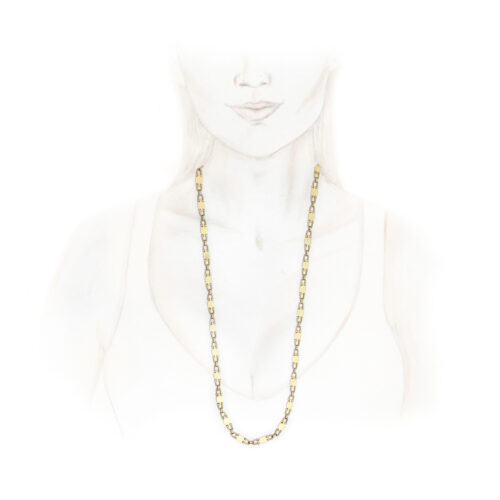 Cartier Gold Chain Necklace