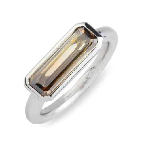 Colored Diamond Ring