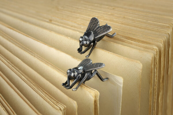 Lalanne Sterling Silver Insect Cufflinks