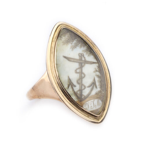 An English Mourning Ring