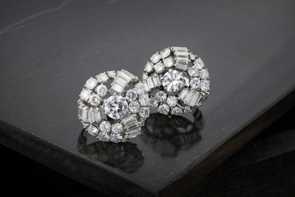 Boucheron Diamond Set Ear Clips