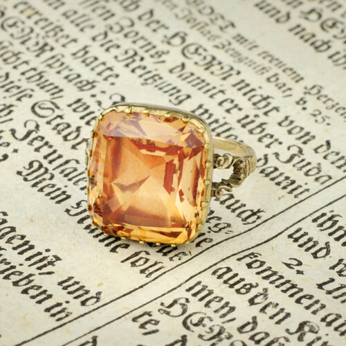 An Antique Topaz Ring