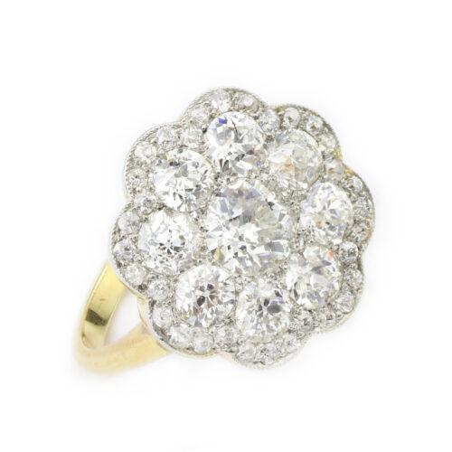 An Edwardian Diamond Ring