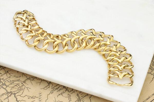 Van Cleef & Arpels Gold Link Bracelet