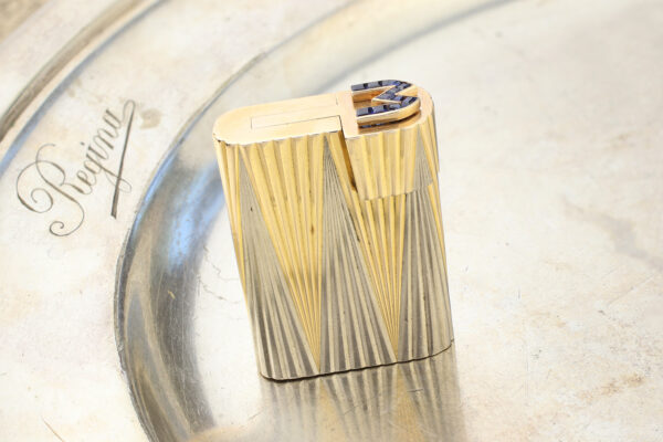 Cartier Two Tone Gold Lighter