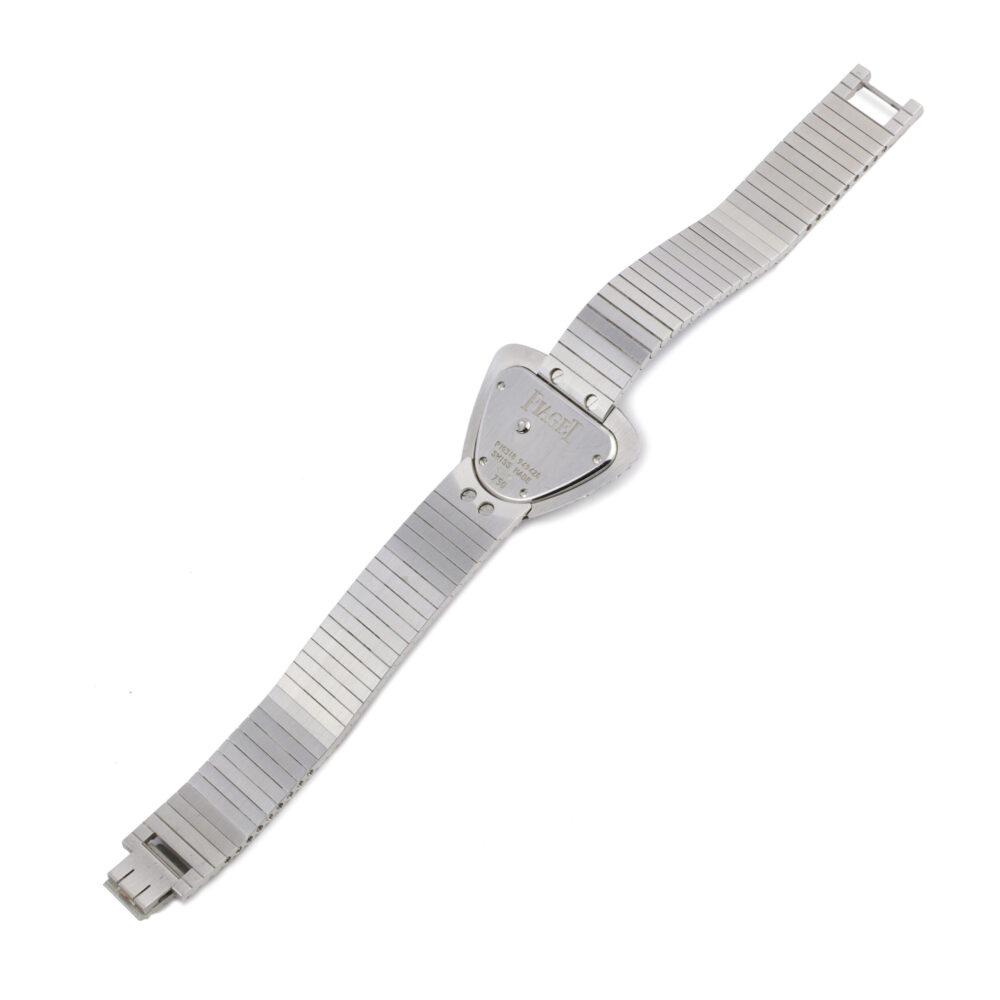 Piaget White Gold and Diamond Wristwatch