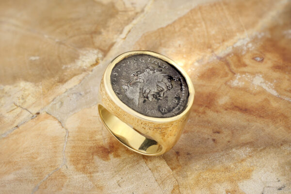 Bulgari Gold 'Monete' Ring
