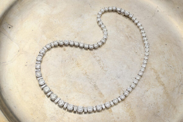 Diamond Riviere Necklace