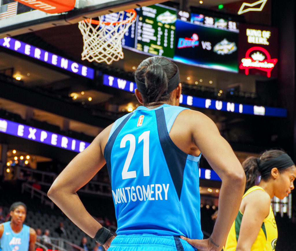 WNBA Atlanta Dream Renee Montgomery retires
