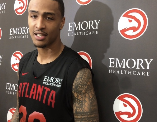 Atlanta Hawks John Collins Awarded Jason Collier Memorial Trophy For His Commitment To Community Service